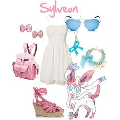 Sylveon inspired outfit...