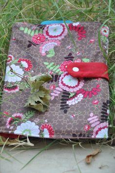 Housse à ardoise Tuto Chipie couture Tissu imprimé hawthorne threads