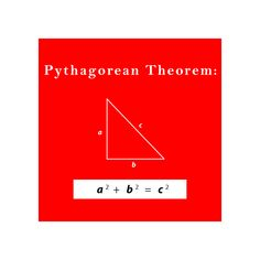 The Pythagorean Theorem:  If a and b are the lengths of the legs of a right triangle and c is the length of the hypotenuse, then the sum of the squares of the lengths of the legs is equal to the square of the length of the hypotenuse.  This relationship is represented by the formula: a^2 + b^2 = c^2  #math #education Right Triangle, Pythagorean Theorem, Math Education, Equality, Squares, Relationship, Activities, Legs, Social Equality