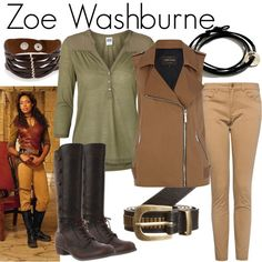 """Zoe Washburne"" by fandom-wardrobes on Polyvore"