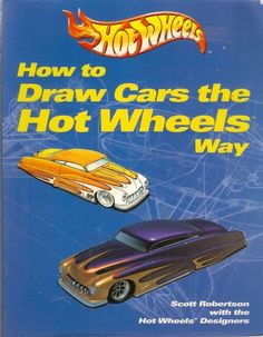 DRAW CARS THE HOT WHEELS WAY. This book provides excellent how-to-draw detail that is appealing and easy to follow for Hot Wheels and drawing enthusiasts from ages 10 to adult. Detailed drawing techniques with descriptive captions allow readers to create their own automotive designs. Illustrations emphasize how to draw fantasy, custom, concept, and hot rod cars.