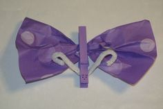 Beautiful Purple Butterfly Craft