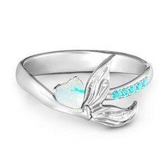 Mystical Mermaid Ring #jewlr