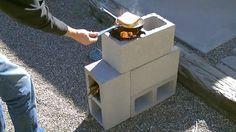 Apresentamos o fogão a lenha mais prático e fácil de fazer de sempre. Ideal para situações em que precisa desesperadamente de um fogão, mas não têm acesso à gás ou electricidade. Este projecto é muito simples e pode reciclar blocos de cimento antigos.  Veja como fazer este fantástico fogão a lenha no seguinte vídeo: