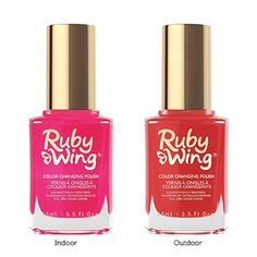my fav color-changing nail polish: Ruby Wing's Kitten Heels