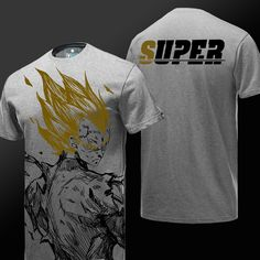 DBZ Mélange Vegeta Gym T Shirt Dragon Ball Z Bodybuilding Entraînement Homme Tee Top S-XXL