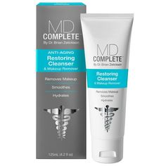 MD Complete Anti-Aging Restoring Cleanser and Makeup Remover 4.2 oz #MDComplete