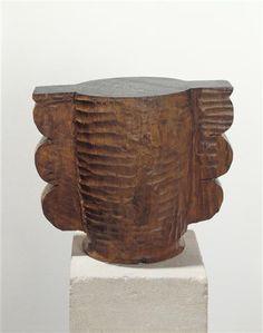 Vase, vers 1939, Constantin Brancusi
