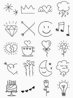 Tattoo Zeichnungen 2019 Lindo A Lápiz De Tareas Creativa ? Bullet Journal Banner, Bullet Journal Art, Bullet Journal Ideas Pages, Bullet Journal Inspiration, Mini Drawings, Cute Easy Drawings, Doodle Drawings, Tattoo Drawings, Tattoo Sketches