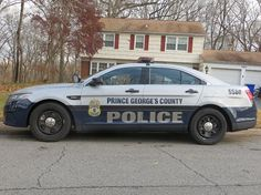 Prince Georges County Maryland Ford Police Vehicle.