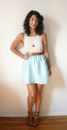 I love this little skirt and can't wait to make one