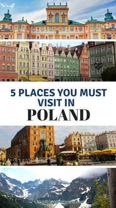 The best places to visit in Poland and what to see when you are there. Poland is a must see in Europe and there is so much this country has to offer that you may not be aware of! Croatia Travel, Thailand Travel, Bangkok Thailand, Hawaii Travel, Solo Travel, European Destination, European Travel, Europe Travel Guide, Travel Destinations