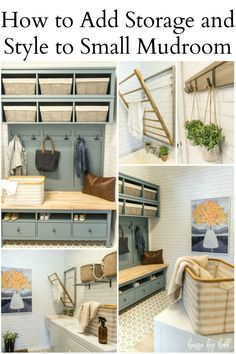 How to Add Storage and Style to a Small Mudroom - House by Hoff