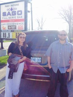 Nahanee and Jesse with their new Dodge Grand Caravan. Congratulations on your new ride!  www.kingstondodge.com