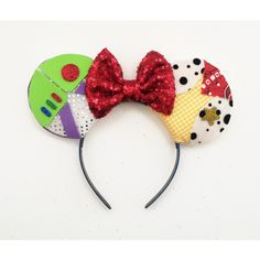 Toy Story Inspired Ears, Woody Ears, Buzz Lightyear Ears, Disney... ($34) ❤ liked on Polyvore featuring jewelry and earrings