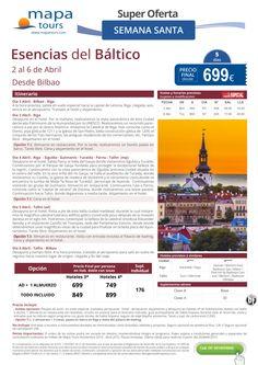 Esencias del Báltico Semana Santa salida Bilbao **Precio Final desde 699** ultimo minuto - http://zocotours.com/esencias-del-baltico-semana-santa-salida-bilbao-precio-final-desde-699-ultimo-minuto/