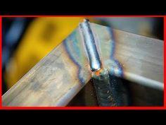 How to Weld Mitered Corners - YouTube