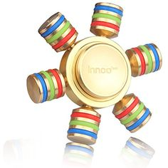 Fidget Spinner | Innoo Tech Six Wings Hands Spinner Figit Spinner | 100% Brass | Spins 3 - 5 Minutes | Spinner Fidget Toys | Anxiety Relief Toys ** Read more reviews of the product by visiting the link on the image. (This is an affiliate link) #NoveltyGagToys