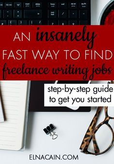 Want to know how I can find freelance writing jobs quickly? I'm a work from home mama with twin toddlers to take care of and I don't have the time to search for freelance writing jobs all over the net. I've found an insanely fast way to find high-quality jobs. Click here to find out!