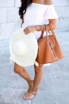 Villa Sant' Andrea - Tibi dress c/o // Meli Melo bag Valentino sandals // Reiss hat Celine sunglasses // Julie Vos rings Friday, July 17, 2015