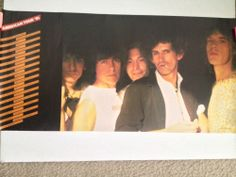 Rolling Stones '81 1981 American Tour Poster Original Rare Collectables #rollingstones #posters #vintage