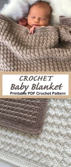 Make a Cozy Blanket - - Looking for new crochet baby blanket patterns to try? There are lots of different crochet blanket patterns to try, perfect for a boy or girl. Crochet Baby Blanket Free Pattern, Easy Crochet Blanket, Baby Afghan Crochet, Baby Afghans, Easy Baby Blanket, Baby Boy Blankets, Crochet For Boys, Crochet Flowers, Ravelry