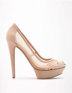 Bershka Italy - Bershka lace pumps