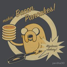 Learning to cook is totally math! Retro style Adventure Time design featuring Jake and bacon. Cooking Time Adventure Time Jake T-shirt. Art Adventure Time, Adventure Time Wallpaper, Adventure Time Pictures, Adventure Time Princesses, Disney Princesses, Abenteuerzeit Mit Finn Und Jake, Finn Jake, Adveture Time, Time Kids