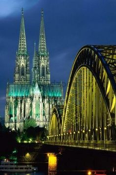 Germany! favorit place, beauti, visit, hohenzollern bridg, germany, travel, germani, hohenzollernbridg, cologn cathedr