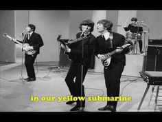 The Beatles- Yellow Submarine (Lyrics)