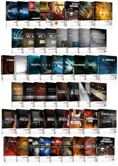 Native Instruments Komplete - More samples, synths and plugins then you can imagine. And they all sound good. Native Instruments, Mac Pc, Studio Software, Sounds Good, Recording Studio, Electronic Music, Nativity, Om, Essentials