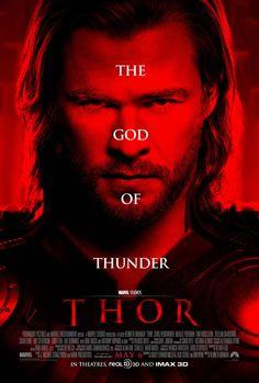 Thor - The God Of Thunder Poster