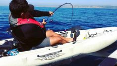 A yellowtail tries to break Mike's rod out in La Jolla. Don't worry no rods were harmed for this photo. Minutes later Mike pulled a nice fat yellowtail into his kayak. 😂🎣 ⠀📷@seasamurai ⠀ www.fishvillage.com⠀ ⠀ #fishvillage #fishyourdream #kayakfishing #yellowtail #lajolla #kayakfishingguide #hobiekayakfishing #bendingrods #kayakfishingtrips #saltwaterkayakfishing #saltwaterlife #fishing #inshorefishing #lajollalocals #sandiegoconnection #sdlocals - posted by Fish Village…