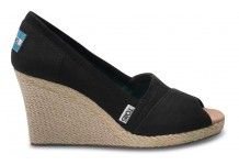 Wedge TOMS - these are on the must purchase list for summer. I just don't know if I should get black, red or ivory.