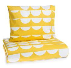 Pajatso yellow duvet cover set || Keltainen Pajatso-pussilakanasetti
