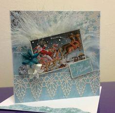 Silver Bells, Kaisercraft Christmas 2016, Christmas Cards, Winter Cards, Snowman, Card Making, Scrap, Santa, Merry, Crafty