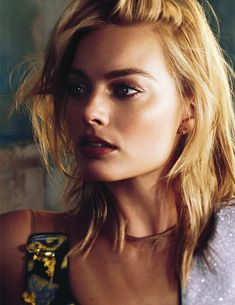 Margot Robbie photographed by Alexi Lubomirskifor for Vogue Australia 2015