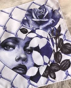 Blue/Black Ballpoint pen over cloth to be exhibited at De la Tira a la Mira Chicano art show It was a little challenging… Chicano Tattoos Lettering, Chicano Tattoos Sleeve, Tattoos Skull, Body Art Tattoos, Tatoos, Lettrage Chicano, Chicano Drawings, Tattoo Drawings, Colorful Drawings