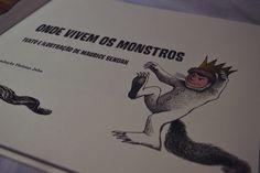 Onde Vivem os Monstros - Maurice Sendak | Cidade das Cerejas: Onde Vivem os Monstros - Maurice Sendak