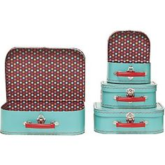 Pool Multi Dots Suitcases