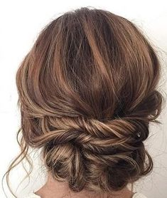 20 Most Romantic Bridal Updos Wedding Hairstyles to Inspire .- 20 Most Romantic Bridal Updos Wedding Hairstyles to Inspire Your Big Day updo wedding hairstyles for long hair - Homecoming Hairstyles, Wedding Hairstyles For Long Hair, Fancy Hairstyles, Wedding Hair And Makeup, Hair Makeup, Wedding Updo, Bridal Hairstyles, Bridesmaids Hairstyles, Hairstyle Ideas