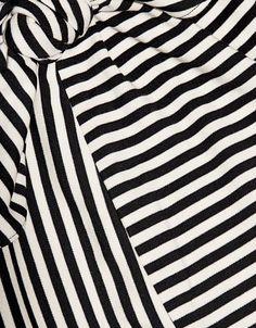 Tibi | Ren Stripe Tie Front Midi Skirt in Stripe | Midi - IFCHIC