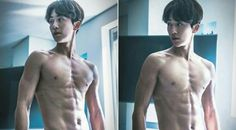 Whoo, MBC's upcoming drama, 'Weightlifting Fairy Kim Bok Joo,' has dropped more still cuts of actor Nam Joo Hyuk, and you might need to fan yourself a… Six Pack Abs Diet, Six Abs, Asian Actors, Korean Actors, Korean Dramas, Nam Joohyuk, Weightlifting Fairy Kim Bok Joo, Joo Hyuk, Korean Entertainment