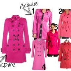 Different pinks:) just choose