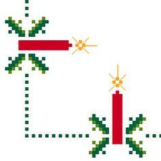 Christmas Motif No.2 free cross stitch pattern
