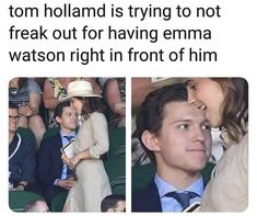 Tom Holland Emma Watsontomholland emmawatsonVogue Italy photo shootVogue Italy photo shootImage about girls in ♥ 𝒪 𝒞 𝒯 𝒪 𝒪 𝐸 𝑅 by 💎𝕼𝖚𝖊𝖊𝖓💎Style and life fashionista style glamour whitedress dresses Tom Holland Emma Watson Funny Marvel Memes, Marvel Jokes, Dc Memes, Avengers Memes, Kpop Memes, Tom Holland Peter Parker, Tommy Boy, Marvel Actors, Really Funny Memes