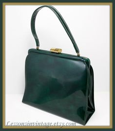 Vintage Patent Leather Theodor in Mint Condition