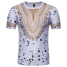 Trendy Design Ethnic World Class Short Sleeve Shirt Dashiki Traditional African Clothing for Men Black/Red/White M/L/XL/XXL African Shirts For Men, African Clothing For Men, African Men, African Style, African Fashion, African Dashiki Shirt, African Dress, Royal Enfield Accessories, Tribal Shirt