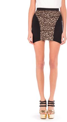 #2020AVE                  #Skirt                    #Shark #Bite #Leopard #Skirt #2020AVE               Shark Bite Leopard Skirt - 2020AVE                                            http://www.seapai.com/product.aspx?PID=822310