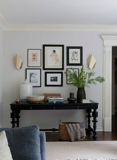 Masculine Chic by DISC Interiors, Los Angeles | Sculptural Brass Sconces